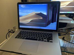 """MacBook Pro Retina 15"""" i7 2G 8gb DDR3 256gb SSD for Sale in Brea, CA"""