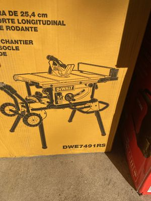 "DeWalt 10"" Job Site Table Saw for Sale in Laurel, MD"