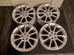 17x7 5x100 lexus wheels with tpms for Sale in Monroe, WA