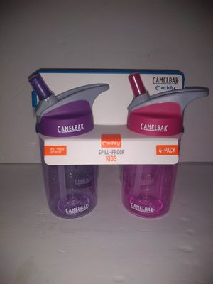 Camelbak Eddy Spill Proof Kids 4-Pack Water Bottle 12oz BPA Free GIRLS for Sale in Atlanta, GA