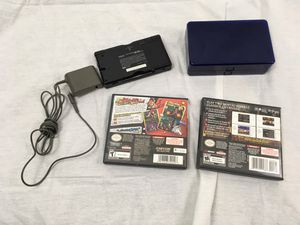 Nintendo DS Handheld with games for Sale in Harrison charter Township, MI