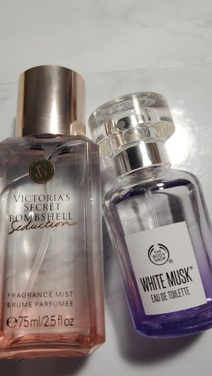 Perfumes Victoria Secret and The Body Shop for Sale in Tacoma, WA