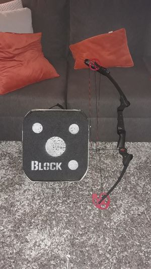 Compound archery bow and a target for Sale in Peoria, AZ