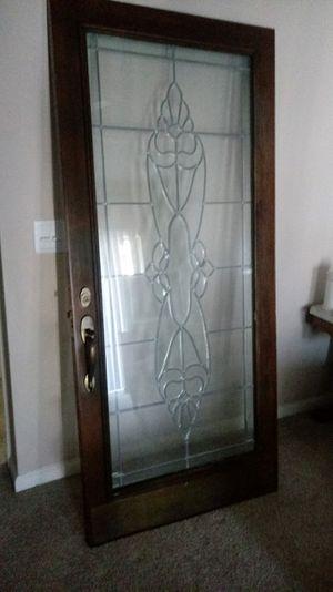 Handmade stain glass door for Sale in Bellevue, TN