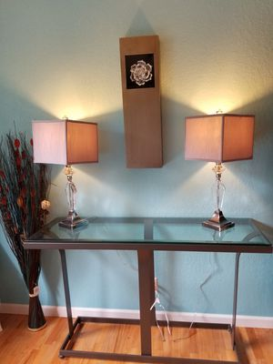 New Entry / Sofa Table for Sale in Bellevue, WA