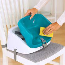 Ingenuity SmartClean Toddler Booster - Peacock Blue for Sale in Fremont, CA