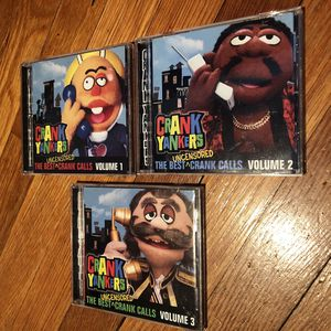 Crank Yankers Vol 1,2,3 CDs for Sale in Boston, MA