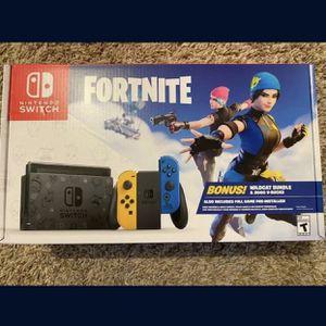 Fortnite Wildcat Nintendo Switch Bundle Brand New for Sale in Anaheim, CA