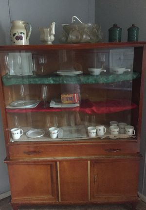 Dresser china cabinet push wheelchair for Sale in Erie, PA