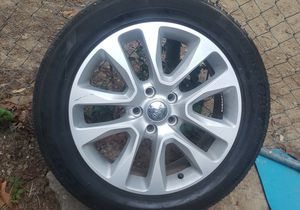 Jeep wheels and good tires for Sale in Douglasville, GA