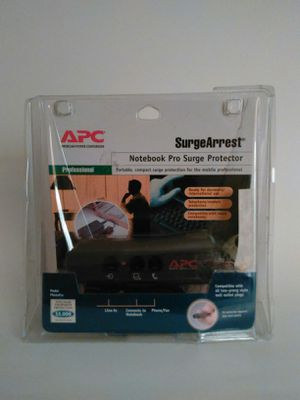 APC PNotePro Surge Arrest Notebook Pro Surge Protector for Sale in Tampa, FL