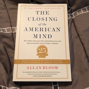 The Closing Of The American Mind By Allan Bloom for Sale in McDonough, GA