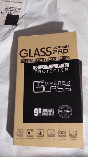 Glass screen protector for us7 iPhone xs max for Sale in Anderson, MO