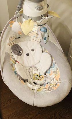 Fisher-Price Sweet Snugapuppy Dreams Cradle 'n Swing for Sale in Arlington,  VA