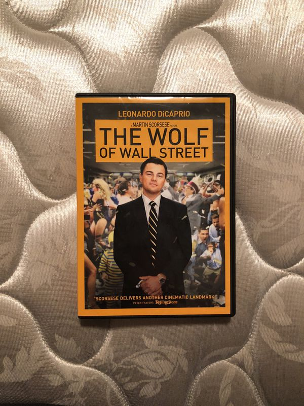The wolf of Wall Street.