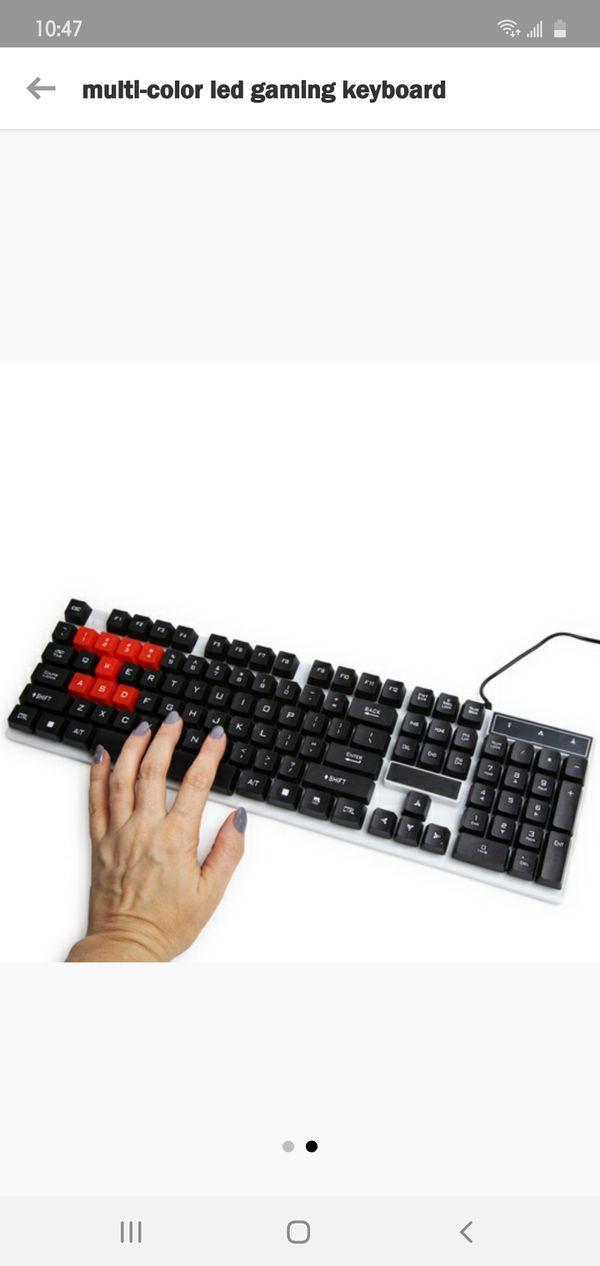 Gaming led keyboard