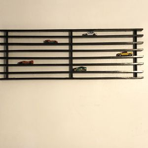 Toy Car Shelf for Hot Wheels Matchbox Cars Mini toy for Sale in Carnegie, PA