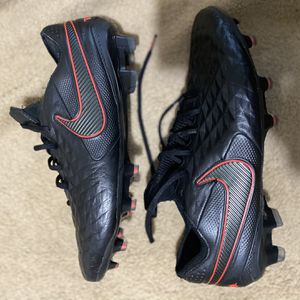 Nike Tiempo's 8 Elite FG Blk/Red for Sale in Silver Spring, MD