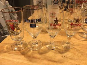 Beer Glass Collection for Sale in Houston, TX
