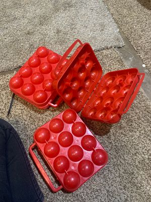 Egg holders for camping for Sale in El Cajon, CA