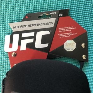 UFC heavy bag gloves S/M for Sale in San Francisco, CA
