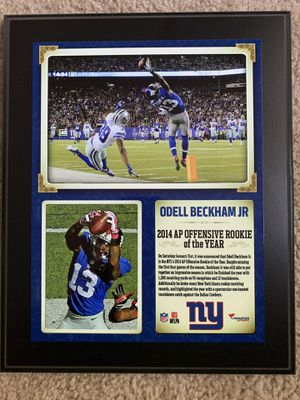 New York Giants Picture/Plaque for Sale in Charlotte, NC