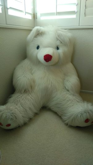 Giant white bear for Sale in San Diego, CA