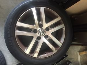 VW Aluminum wheels with Tires for Sale in Lake Worth, FL