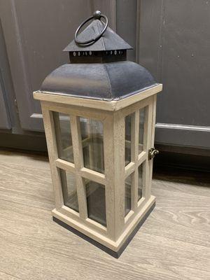 Candle Lantern Indoor/Outdoor Rustic Design for Sale in Henderson, NV