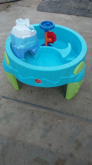 Step 2 water/sand table and playskool walker kids toys for Sale in San Bernardino, CA