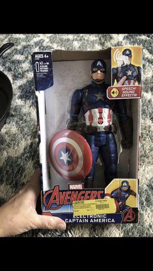 Captain America action figure for Sale in Simpsonville, SC