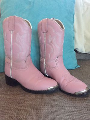 Girls Durango cowgirl boots for Sale in Brunswick, ME