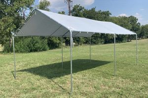 10x20 CARPORT HEAVY DUTY CANOPY TENT GAZEBO TENT BOOTH GARAGE SHADE SHELTER SHED for Sale in Miami, FL