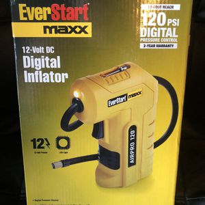 Ever start Maxx 12 Volt Digital Inflator for Sale in Ontario, CA