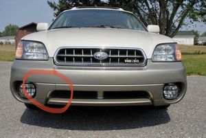 Subaru Outback OEM front bumper tow hook cover panel for Sale in Federal Way, WA