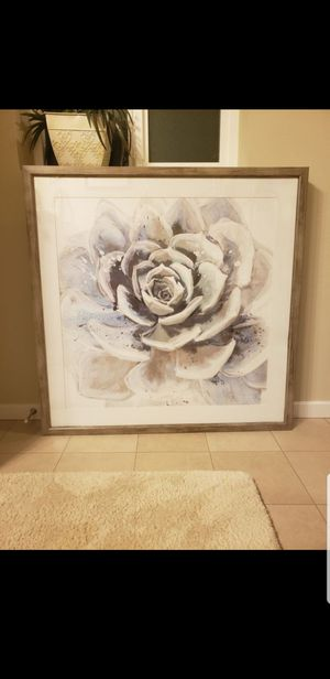 Flower picture frame for Sale in Tacoma, WA
