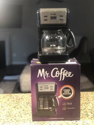 Mr. Coffee 12 Cup Programmable Red Coffee Maker for Sale in Columbia, SC