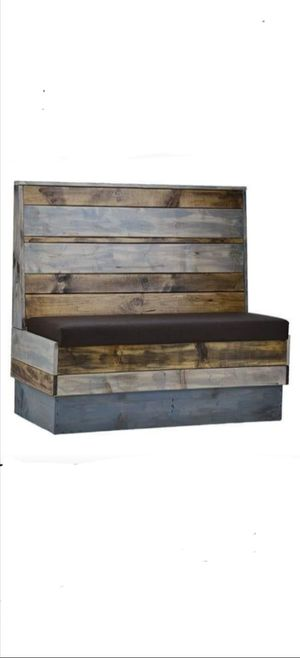 """Wood Restaurant Booth Size:24""""d x 36"""" h x 48""""w for Sale in Santa Ana, CA"""