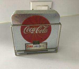 4 Coca Cola insulators for glasses all for $5 for Sale in Orlando, FL