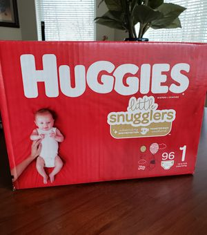 New Huggies Diapers Size 1 for Sale in Seattle, WA