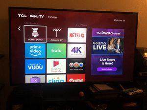 TCL Roku TV for Sale in Salt Lake City, UT