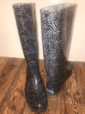Rain boots sz 6w for Sale in Veradale, WA