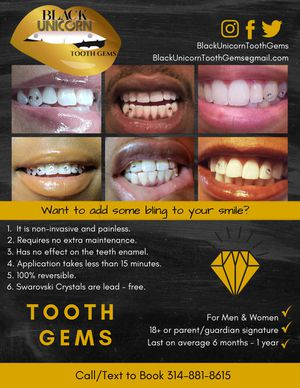 tooth gems for Sale in St. Louis, MO