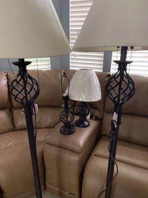 4 Lamps for Sale in Stockton, CA