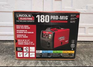Lincoln Electric 230-Volt 180-Amp Mig Flux-cored Wire Feed Welder for Sale in Lithonia, GA