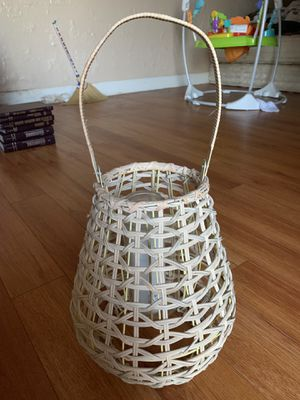Wicker Boho Candle Holder // Lantern for Sale in San Diego, CA