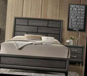 CLOSEOUTS LIQUIDATIONS SALE BRAND QUEEN SIZE 4PC BEDROOM SET AVAILABLE IN KING SIZE. ADD MATTRESS. NEW FURNITURE CM 4620 for Sale in Pomona,  CA