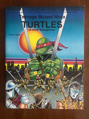 TMNT Teenage Mutant Ninja Turtles & Other Strangeness Role Playing Game for Sale in Phoenix, AZ