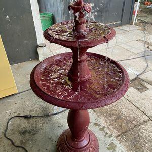 Aluminum Water Fountain [Read Description] for Sale in Chandler, AZ