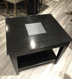 Black Side Table for Sale in San Antonio, TX